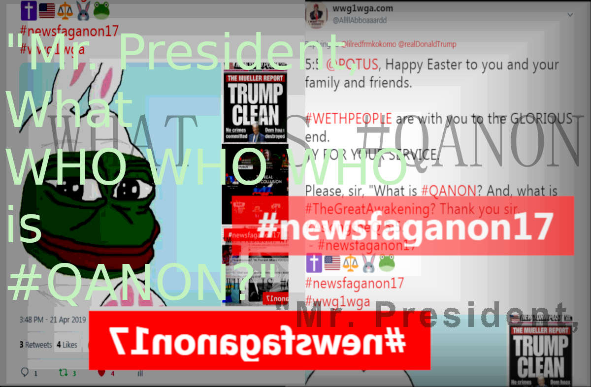 WHO IS Q, MR PRESIDENT? - #NEWSFAGANON17